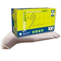 Rokavice za enkratno uporabo Latex 100/1