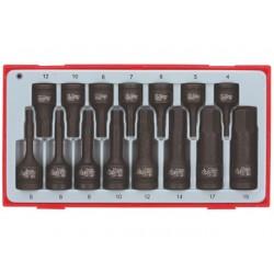 Teng Tools Impact Imbus nastavki TT9015HX