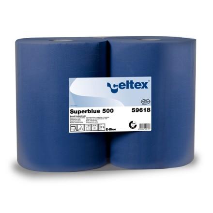 Industrijska brisača modra Superblu