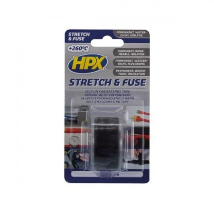 HPX STRETCH & FUSE TAPE black