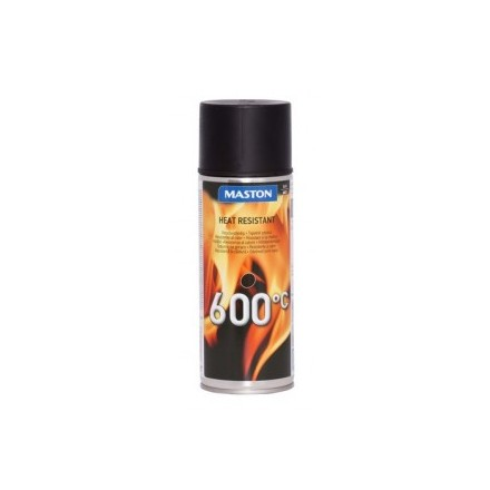 MASTON HEAT PAINT +600 black  400ml