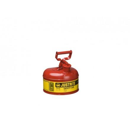 Justrite posoda za vnetljive tekočine Tip I. - 4L