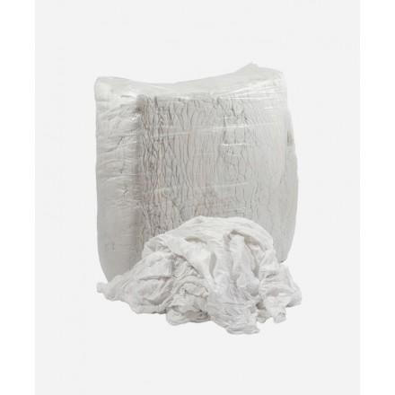 Krpe za brisanje - beli bombaž 10 kg