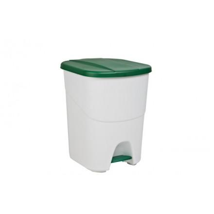 Koš za odpadke s pohodnim mehanizmom 40L