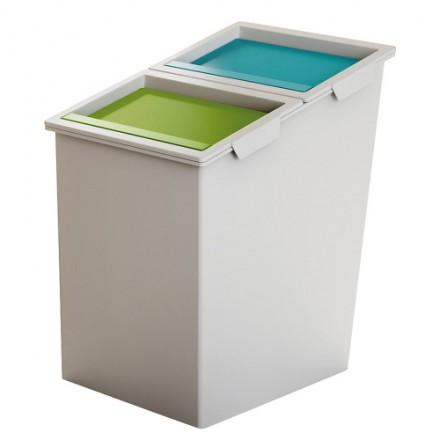 Koš za ločevanje odpadkov NX03 - dvojni