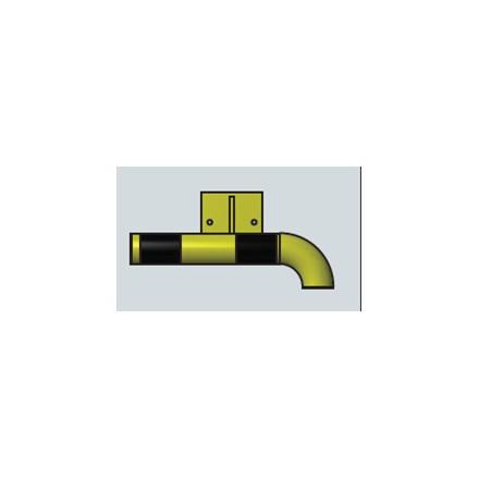 Modularni sistem za zaščito sten – notranji kot v desno 500 mm - notranji
