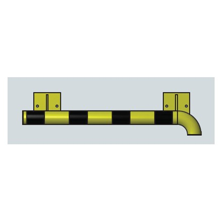 Modularni sistem za zaščito sten – notranji kot v desno 1000 mm - zunanji