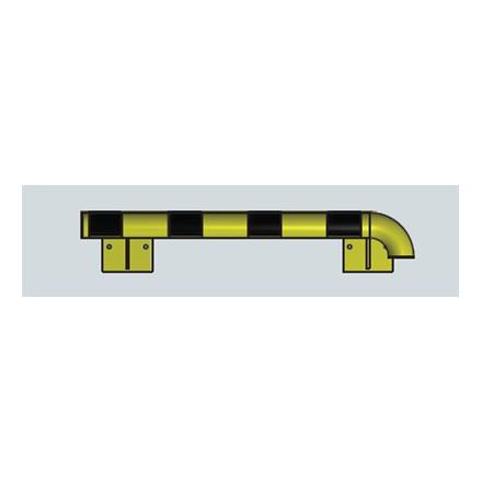 Modularni sistem za zaščito sten – zunanji kot v desno 1000 mm - notranji