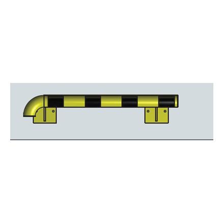Modularni sistem za zaščito sten – zunanji kot v levo 1000 mm - notranji