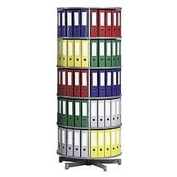 Vrtljivi stolp za registratorje - 5 etaž