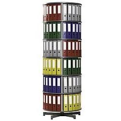 Vrtljivi stolp za registratorje- 6 etaž