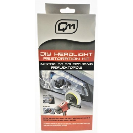 Q11 DIY HEADLIGHT RESTORATION KIT