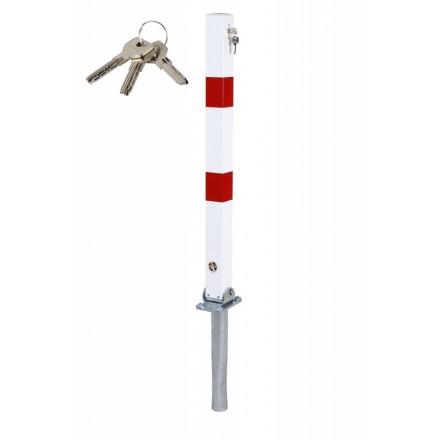 Zložljiv zaporni stebriček 90-40 - za vbetoniranje