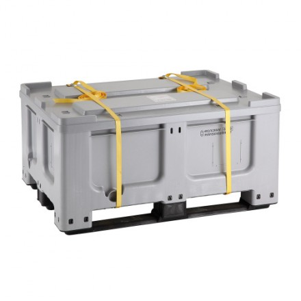 Plastični zaboj za baterije 400 L