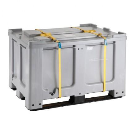 Plastični zaboj za baterije 600 L
