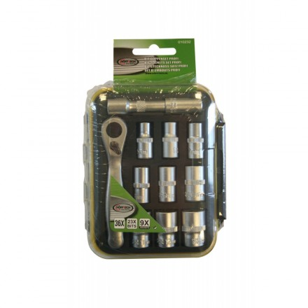 Hofftech Bit Socket set 36/1