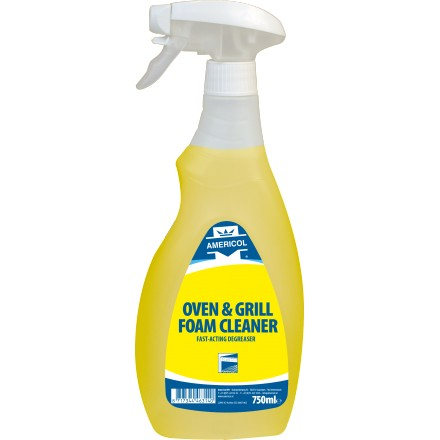 Americol Oven & Grill Foam Cleaner 750 ml