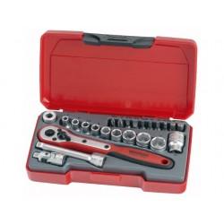 Teng Tools Garnitura nasadnih ključev T1424