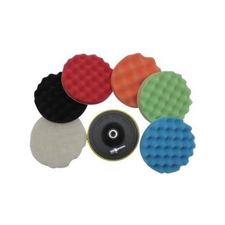 Hofftech Polishing Pad set 7/1 (150 mm)