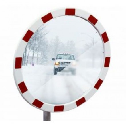 Dancop TM Traffic mirror – inox Ø60 cm
