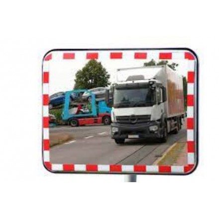 Dancop UNI-SIG mirror z odsevnim trakom 40 x 60 cm