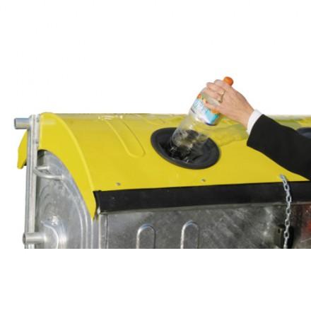 Vroče cinkan zabojnik 1100L - za plastiko