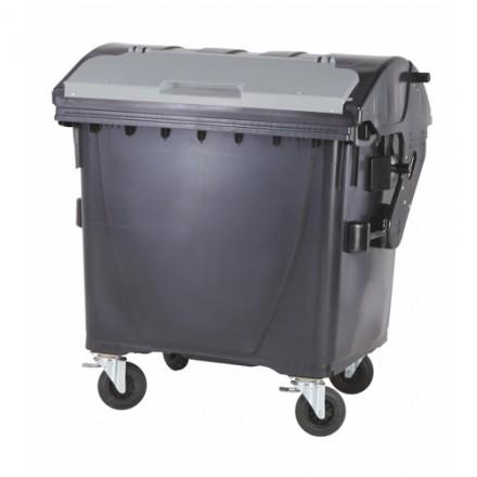 Komunalni zabojnik VV 1100L - Okrogli pokrov kovina
