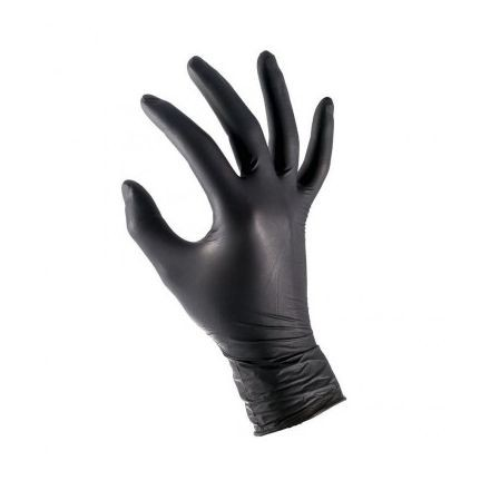 "Rokavice Nitrylex Black 100/1 ""XL"""
