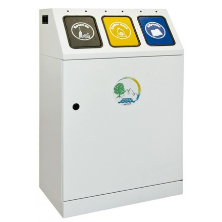 Sistem za ločevanje odpadkov Triplex