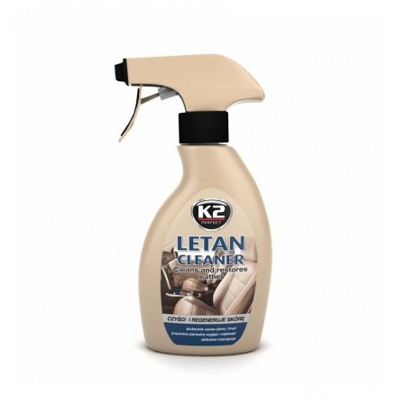 K2 LETAN CLEANER - čistilo za usnje 250ml