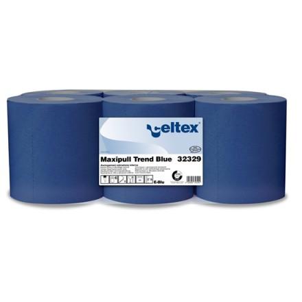 Celtex papirnata brisača Maxipull Trend Blue 6/1