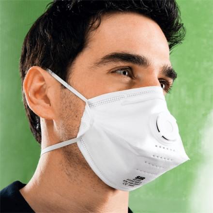 Respirator FFP2 NR D z ventilom
