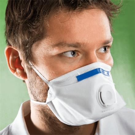 Zložljiv respirator FFP3 NR D z ventilom