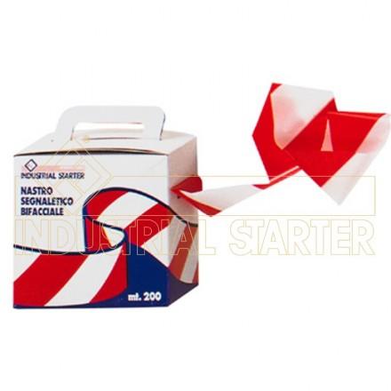 Označevalni trak - rdeča/bela