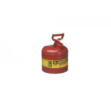 Justrite posoda za vnetljive tekočine Tip I. - 7,5L