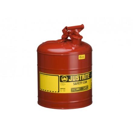 Justrite posoda za vnetljive tekočine Tip I. - 19L