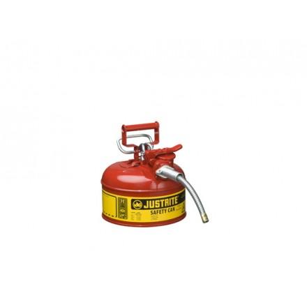 Justrite posoda za vnetljive tekočine Tip II. - 4L