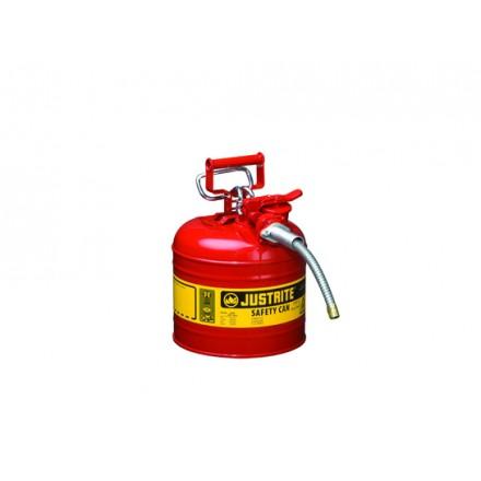 Justrite posoda za vnetljive tekočine Tip II. - 7,5L