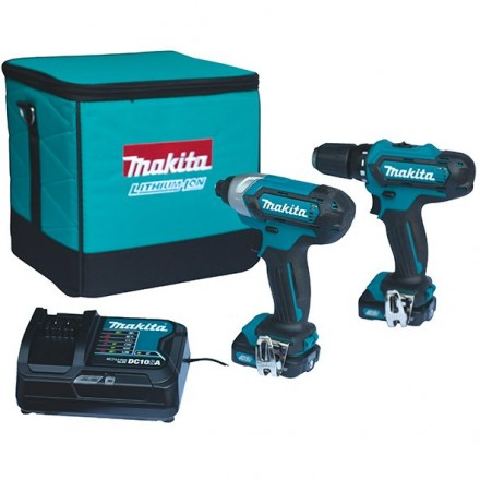 Makita set CXT - CLX201SA