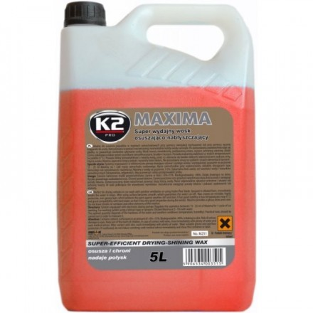 K2 MAXIMA DRYING WAX 5L