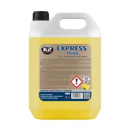 K2 EXPRESS PLUS avtošampon z voskom 5L