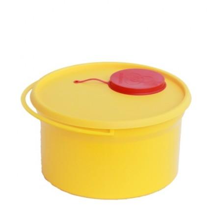 Posode za medicinske odpadke 5L - 10 kos