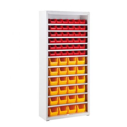Odprta omara za Pvc zabojčke 750 mm