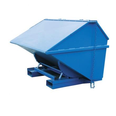 Kontejner z mehanizmom za praznjenje s pokrovom - tip 6571