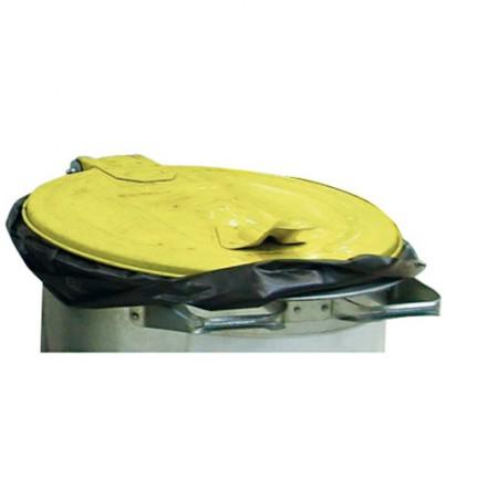 Kovinski zabojnik za odpadke 110L