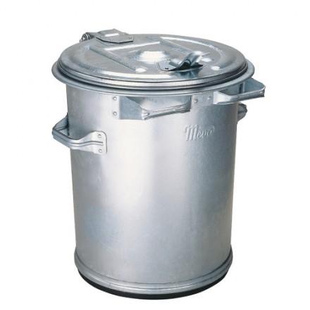 Kovinski zabojnik za odpadke 70L