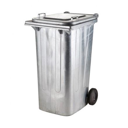 Kovinski zabojnik za odpadke 240L