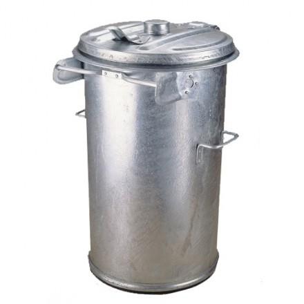 Kovinski zabojnik za odpadke 90L