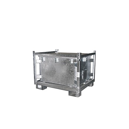 Kovinski Zabojnik za akumulatorje 500L
