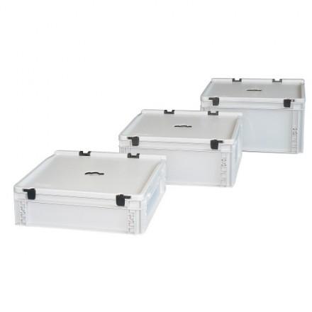 Plastični zaboj za odpadne baterije tip 3711